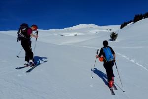 Ski de rando : Le Quermoz depuis Montgirod