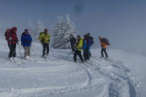 Pointe d'Andey à ski