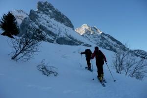 Ski de rando : tour du Mont Fleuri