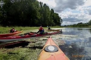 Kayak:  d'Avrilly à Cosne sur Loire