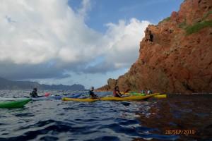 Kayak: Voyage itinérant en Corse