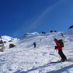 Ski de randonnée: col de la Tulle