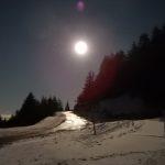 raquettes: sortie pleine lune au Semnoz