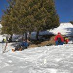 Ski de rando : le col Ratti
