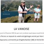 Les principaux massifs de la Vanoise: le point de vue du géologue