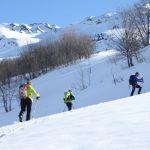 Ski nordique: le Grand Crêtet (2292 m)