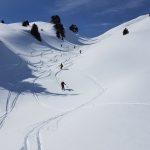 Ski de rando: la Pointe de Glais Rouge (2061 m)