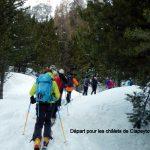 ski de rando: séjour à Fontgillarde
