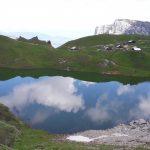 Randonnée: la lac de Lessy