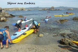 Pratique du Kayak