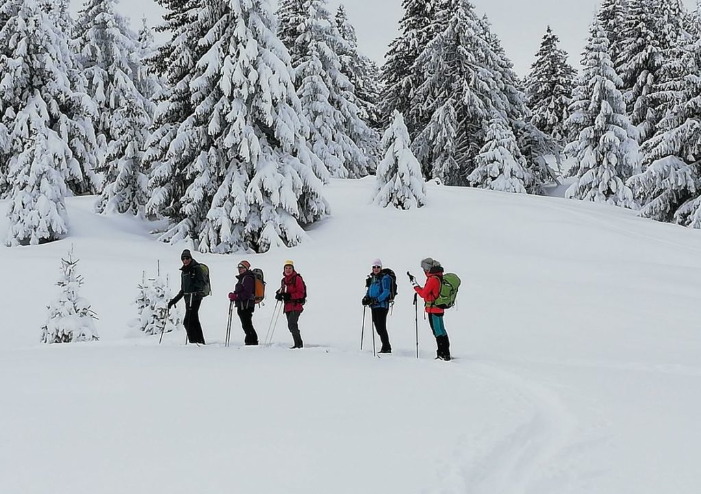Ski nordique au Semnoz